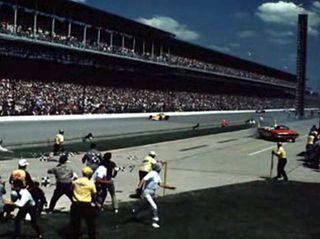Eldon Palmer Pace Car Crash 1971