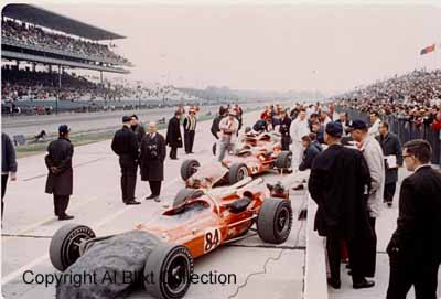 Indy cars 1967