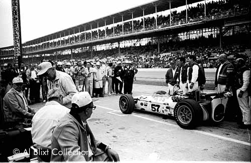 Bob Harkey 2 DNQ Indy 1967