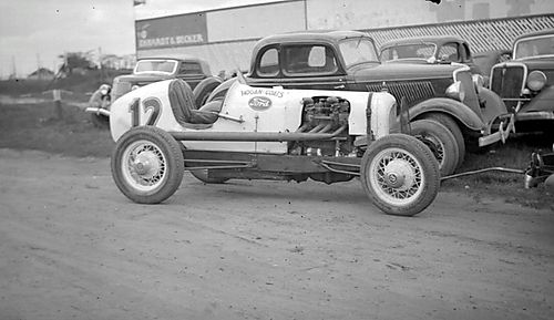Car #12 Detroit 100 Mile Race 1936