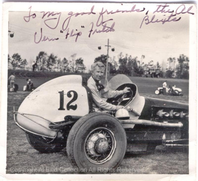 Al Blixt Auto Racing History: Mt. Clemens Race Track